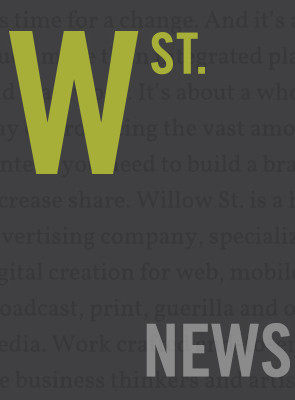 WePresent Selects Willow St. As Content Marketing  Partner.